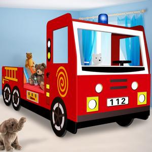 Deuba Feuerwehrbett 205x94,5x103cm