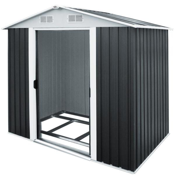 Deuba Gartenhaus aus Metall 5 m²