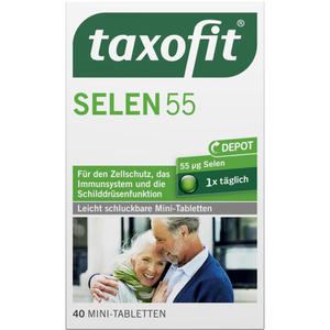 taxofit Selen Depot 55 Tabletten