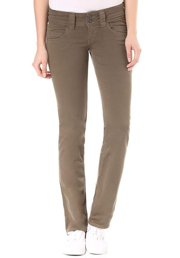 781b8052a199b2 Pepe Jeans Venus - Hose für Damen - Grün von Planet Sports ansehen ...