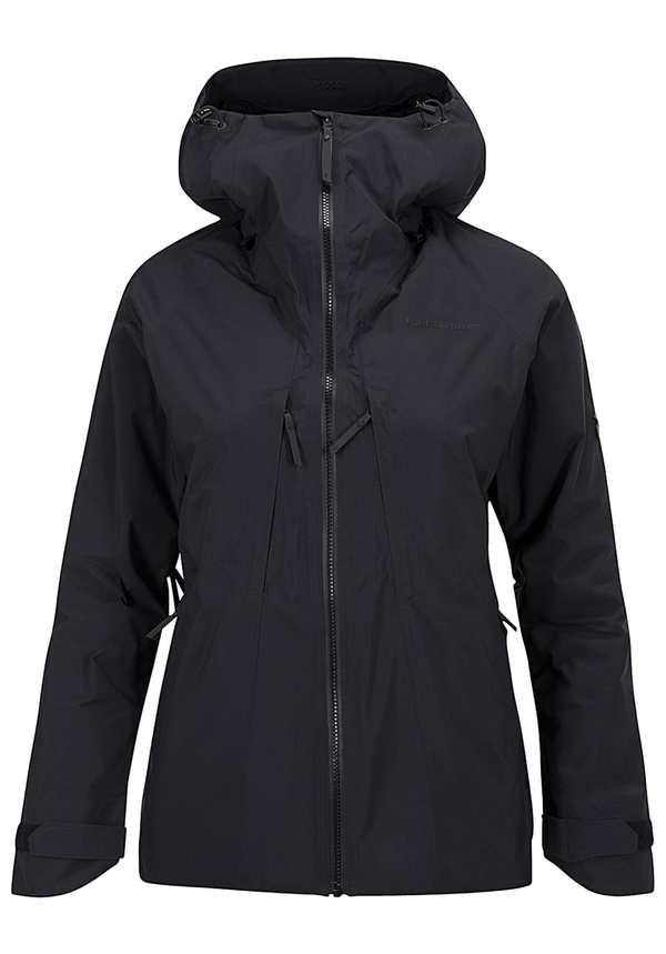 Peak Performance Teton 2L - Outdoorjacke für Damen - Schwarz