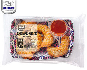 "ALMARE Shrimps-Snack ""Hot & Spicy""**"