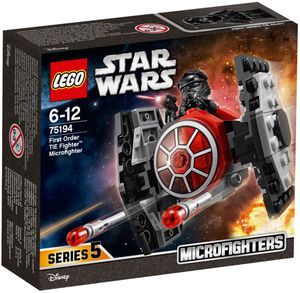 Lego Sortiment - First Order TIE Fighter Microfiighter