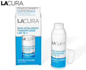 LACURA Duo-Hyaluron Gesichtspflege HYDRO POWER