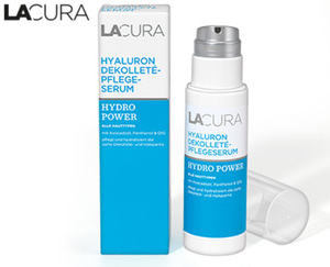 LACURA Hyaluron Dekolleté Pflegeserum HYDRO POWER