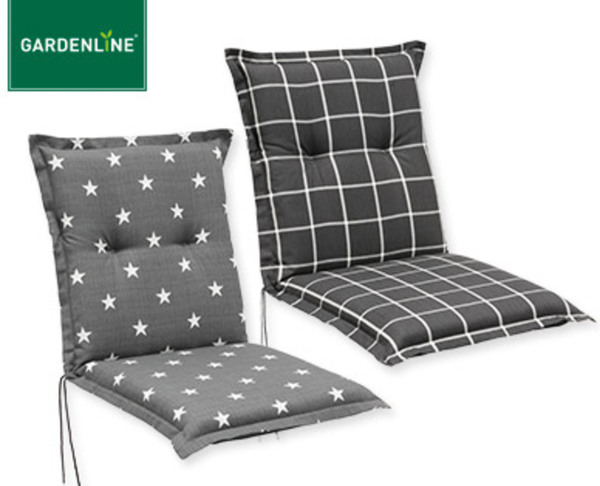 gardenline niedriglehner polsterauflage von aldi s d ansehen. Black Bedroom Furniture Sets. Home Design Ideas