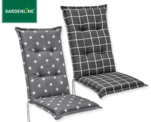 gardenline hochlehner polsterauflage von aldi s d ansehen. Black Bedroom Furniture Sets. Home Design Ideas