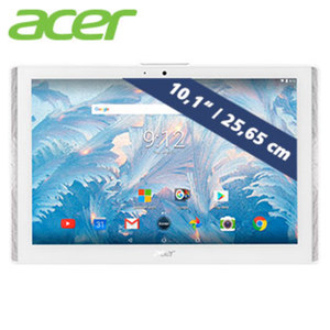 Multimedia-Tablet-PC Icona One (B3-A40) · Media Tek Quad Core Prozessor (bis zu 1,3 GHz) · 2 Kameras ( 2- / 5-MP)   · Android™ 7.0