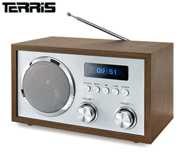 terris nostalgie radio mit dab von aldi s d ansehen. Black Bedroom Furniture Sets. Home Design Ideas