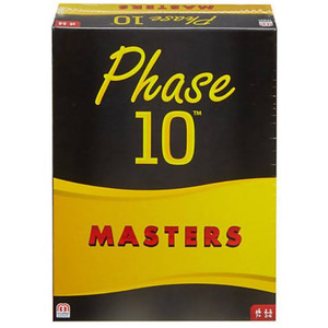 Mattel Games - Phase 10 Masters