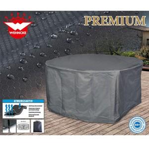 Premium Schützhülle für ovale Garten-Sitzgruppe 240 x 190 x 90 cm