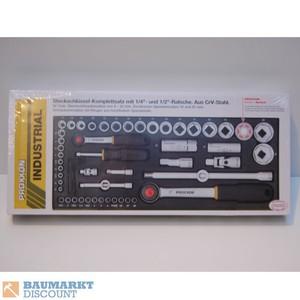 Proxxon Steckschlüsselsatz 1/2 + 1/4´´ 56 TLG NR. 23040 ´´