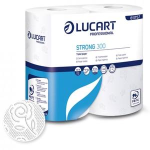 Lucart Strong 300 Soft WC Papier 4 Rollen