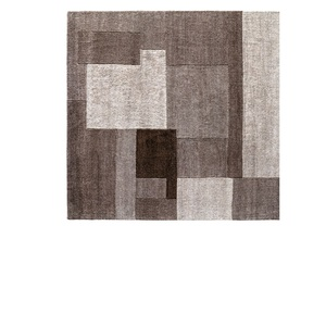 Handgeknüpfter Teppich JOY 200 x 250 cm in Coffee