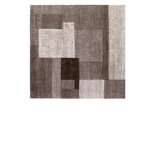 Handgeknüpfter Teppich JOY 250 x 300 cm in Coffee
