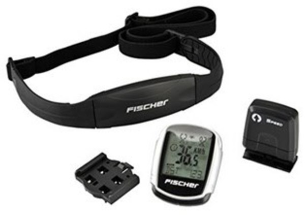 Trade4Less Fischer Fahrradcomputer Profi Plus mit Brustgurt