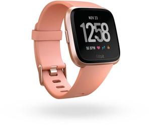 Fitbit Versa Smartwatch pfirsich/roségold