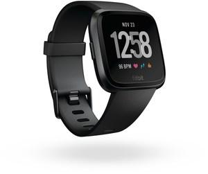 Fitbit Versa Smartwatch schwarz