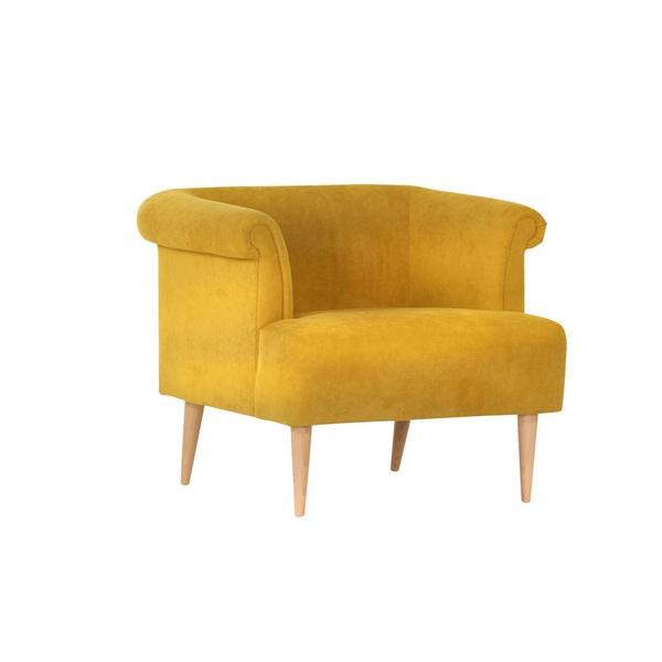 Sessel SWING Stoffbezug Senfgelb von porta Möbel für 169
