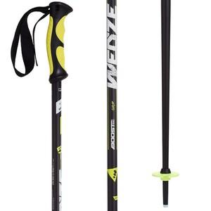 Skistöcke Boost 500 Grip Herren gelb