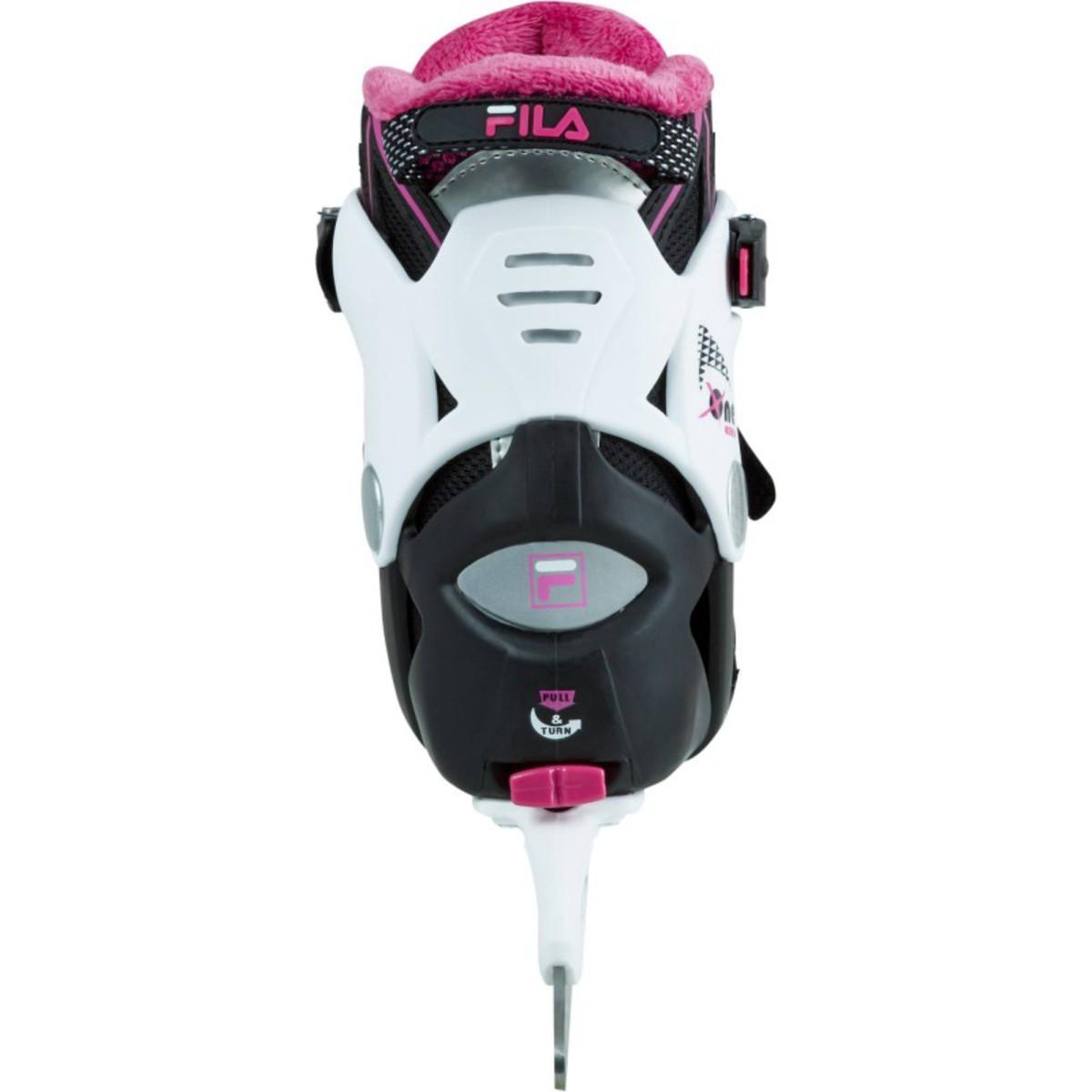 Bild 5 von FILA Schlittschuhe X-One Ice schwarz/magenta - Größen 29 bis 41, Größe: 29/30/31/32/32/33