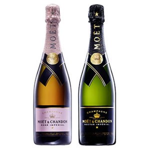 Moet & Chandon Nectar oder Rose Imperial jede 0,75-l-Flasche