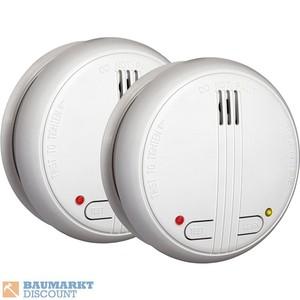 Smartwares Funk-Rauchwarnmelder 2er Set FA21RF/2