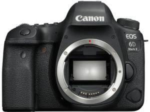 CANON EOS 6D Mark II Body Spiegelreflexkamera, 26.2 Megapixel, Full HD, CMOS Sensor, Near Field Communication, WLAN, Autofokus, Touchscreen, Schwarz