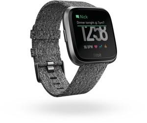 Fitbit Versa Special Edition Smartwatch dunkelgrau/graphitgrau