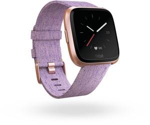 Fitbit Versa Special Edition Smartwatch lavendel/roségold
