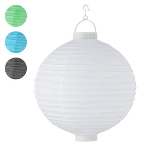 LED Lampion aus Papier