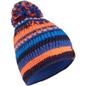 Skimütze Mixyarn Kinder marineblau/orange WED'ZE