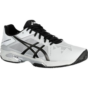 ASICS Tennisschuhe Gel Solution Speed 3 Sandplatz Herren hellgrau, Größe: 9 - M44 W43.5