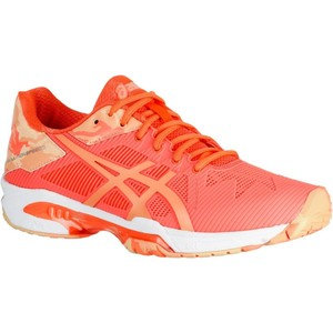 ASICS Tennisschuhe Gel Solution Speed Allcourt Multicourt Damen neonorange, Größe: H37,5 F37