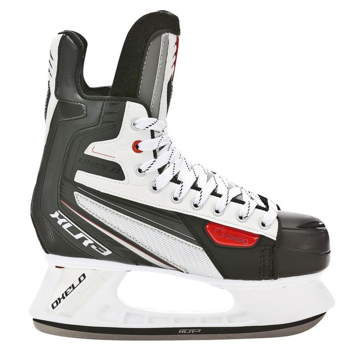 Bild 2 von OXELO Eishockey-Schlittschuhe XLR 3 Erwachsene , Größe: 41