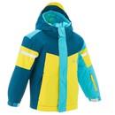 Bild 1 von WED´ZE Skijacke 300 Kinder blau/gelb, Größe: 3 J. - Gr. 95