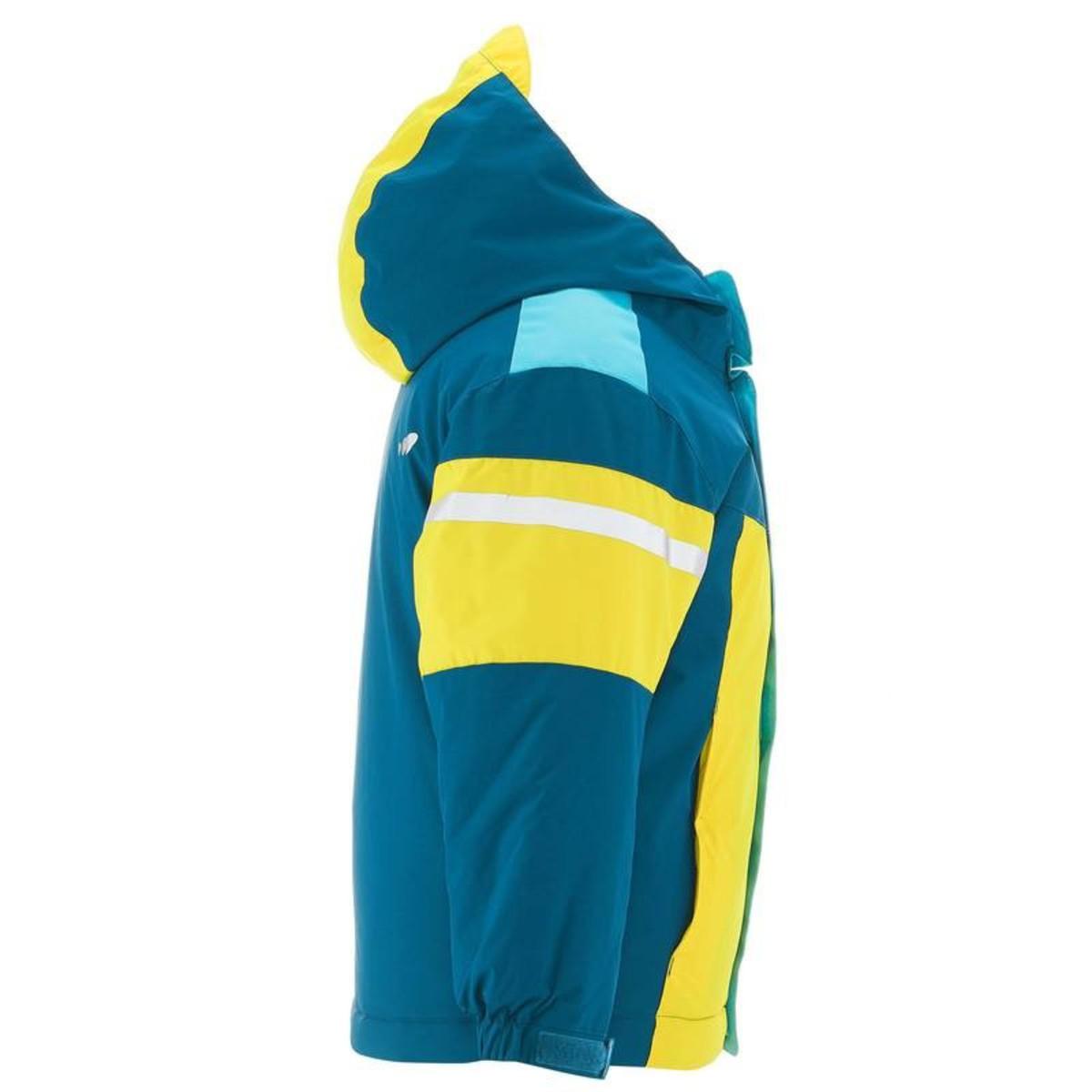 Bild 2 von WED´ZE Skijacke 300 Kinder blau/gelb, Größe: 3 J. - Gr. 95