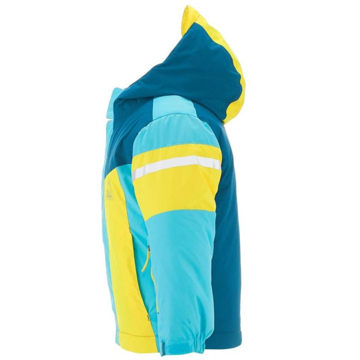 Bild 4 von WED´ZE Skijacke 300 Kinder blau/gelb, Größe: 3 J. - Gr. 95
