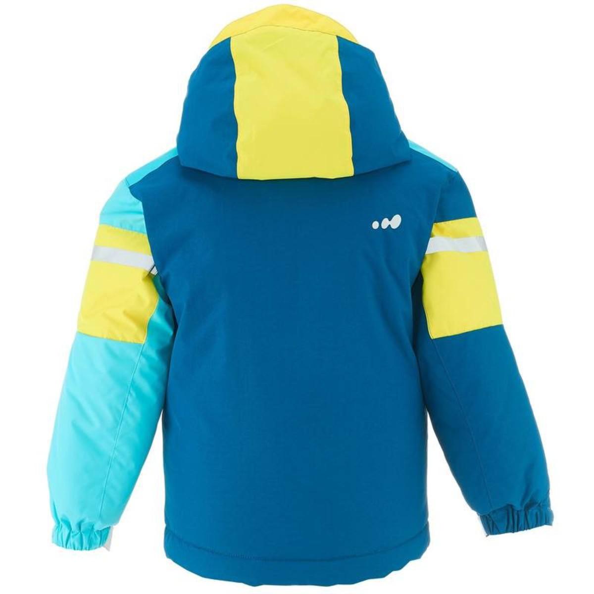 Bild 5 von WED´ZE Skijacke 300 Kinder blau/gelb, Größe: 3 J. - Gr. 95