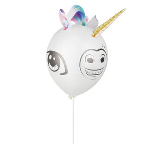 LED-Luftballon Einhorn 3D