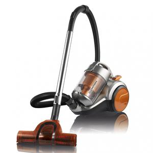 "CLEANmaxx Zyklon-Staubsauger ""Pet Star"", 700W - orange/silber"
