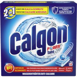 Calgon Power Tabs 15 WL
