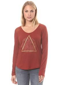 Roxy Potato Jungly - Langarmshirt für Damen - Rot