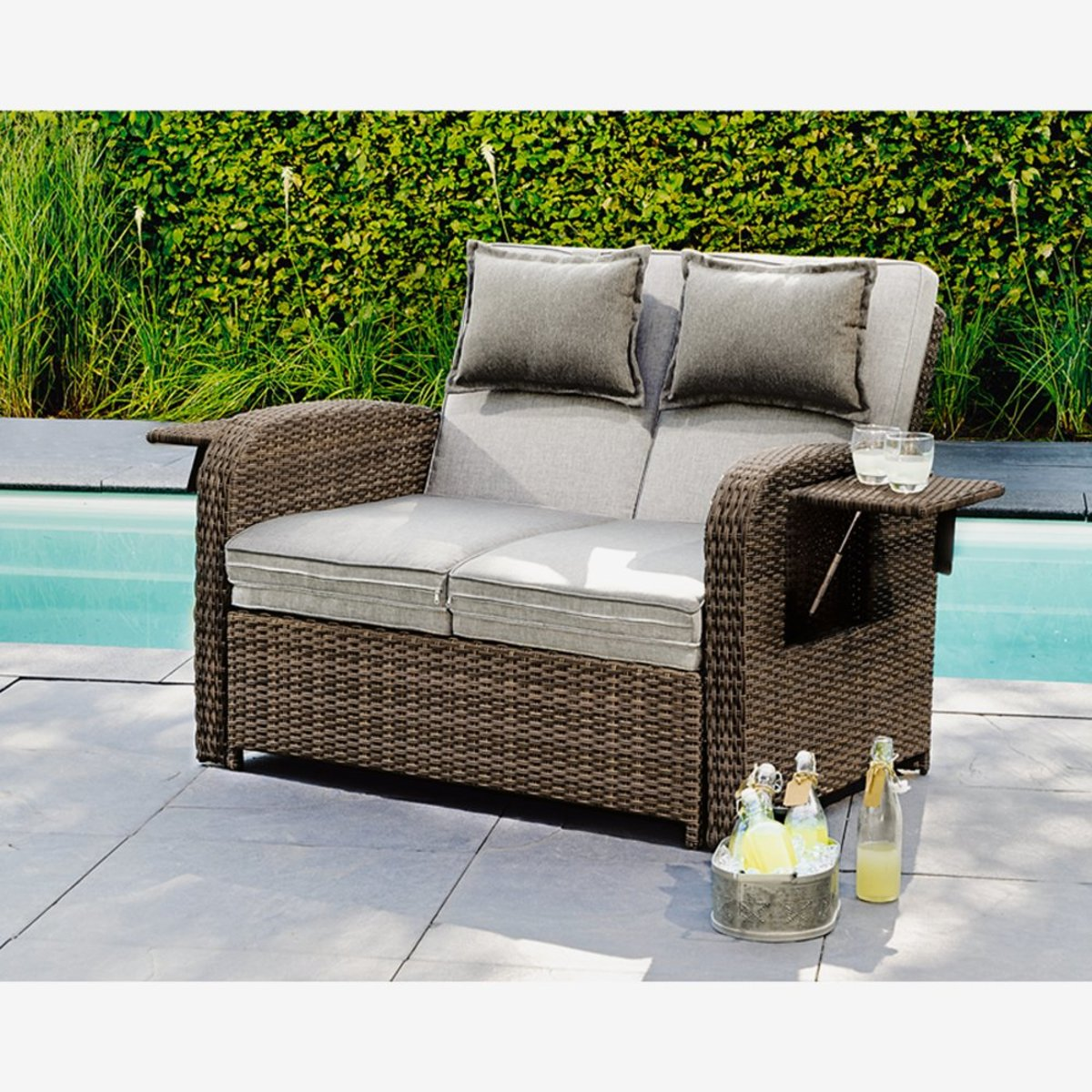 "Bild 2 von Multifunktions-Sofa ""Trinidad"" 117 x 90 x 90 cm"