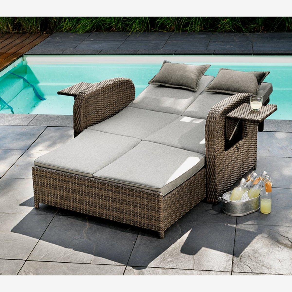 "Bild 4 von Multifunktions-Sofa ""Trinidad"" 117 x 90 x 90 cm"