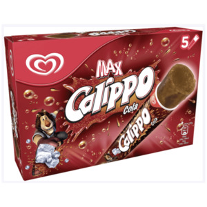 Langnese Calippo Cola Familienpackung Eis 5x105ml