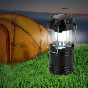 EASYmaxx Solar-Laterne Camping 3,6V schwarz