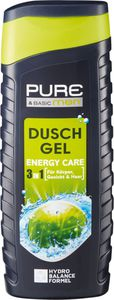 PURE & BASIC men Duschgel Energy Care 3in1, 300 ml