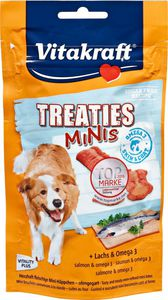Vitakraft Treaties Minis + Lachs & Omega 3 8x 48 g