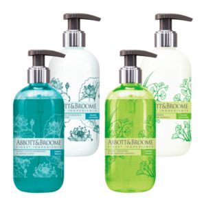 Abbot & Broome Hand Wash/Hand Lotion